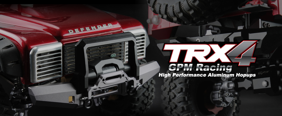 GPM Racing TRAXXAS TRX4 Rock Crawler Upgrade Parts