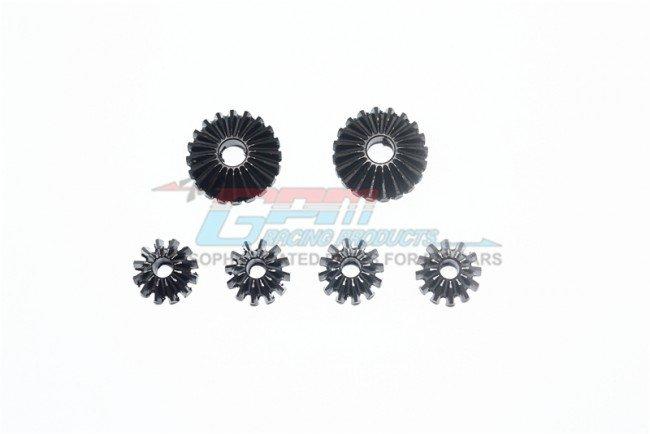 ARRMA KRATON 6S BLX Monster Truck Harden Steel #45 Front/Center/Rear Differential Bevel Gear & Pinion Gear - 6pc set - GPM MAK1200S