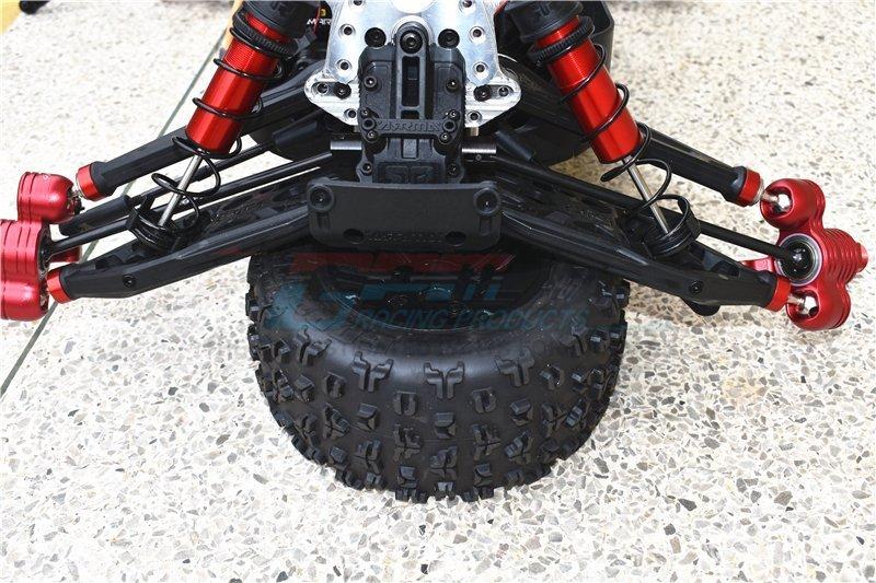 GPM Racing Arrma 1//5 Kraton 8S Tirante Aço Inoxidável 4pc Conjunto MAKX160S-SH-OC
