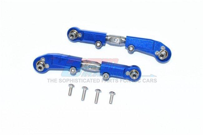 GPM Aluminum Rear Knuckle Arm 6Pcs SENTON//TALION //INFRACTION //LIMITLESS Blue