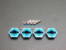 Associated Monster GT Alloy Drive Adaptor With Pins - 4pcs set - GPM AGM1010