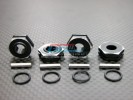 Associated Monster GT Alloy Drive Adaptor With Pins+O-rings - 4pcs set - GPM AGM1010E