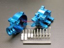 Associated Monster GT Alloy Front/Rear Gear Box With Pins + E-clips + Collars + Screws - 1pr set - GPM AGM1012