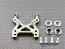 Associated RC 18T Alloy Front Damper Tower With Alloy Collars & Screws - 1pc set - GPM AR028