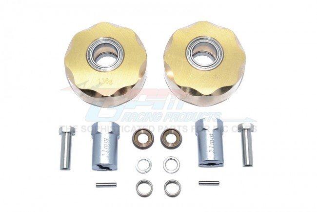 AXIAL SCX10 I SCX10 II KOMODO Brass Pendulum Wheel Knuckle Axle Weight A