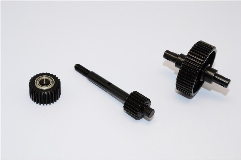 Axial Racing SCX10 Steel #45 Center Drive Gears - 3pcs set - GPM SSCX038G