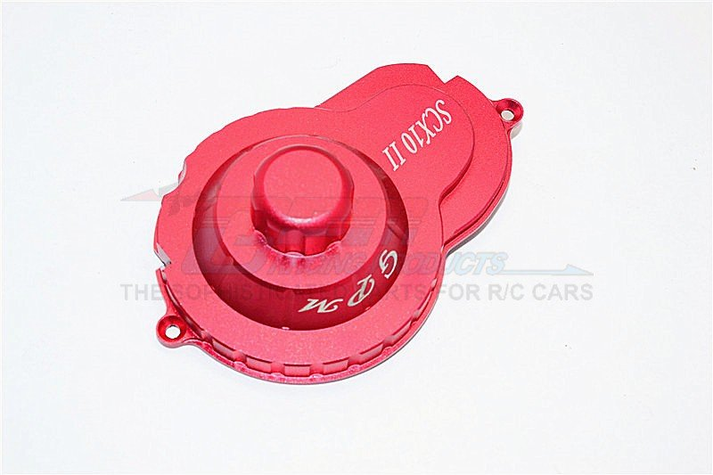AXIAL Racing SCX10 II Aluminium Spur Gear Cover (AX31378) - 1pc set - GPM SCX2038GCA