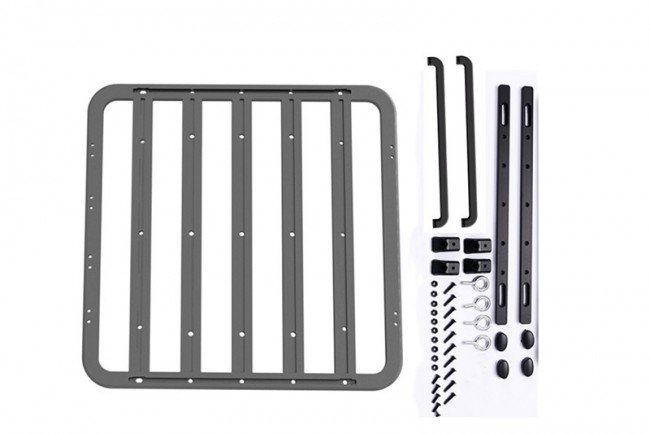 AXIAL Racing SCX10 II RC Car Metal Roof Luggage Rack For Crawlers(with Handle) - 41pc set - GPM ZSP059B
