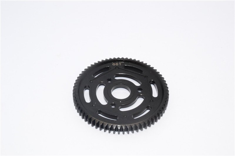 Axial Racing Yeti Steel #45 Spur Gear 32 Pitch 66T (AX31065) - 1pc - GPM YT066TS