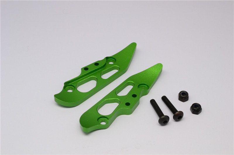 Axial Racing Yeti XL Aluminium Rear Damper Mount (AX31015) - 2pcs set - GPM YTL030