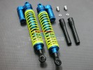 Cen Genesis 46 Alloy Front/Rear Shock (145mm) With Alloy Collars & Shims & Dust-Proof Black Plastic Cover - 1pr set - GPM GEN3145