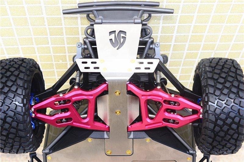 Traxxas Skid Platte vorne Plastik Support Platte Stahl TRX8537 Unlimited Desert