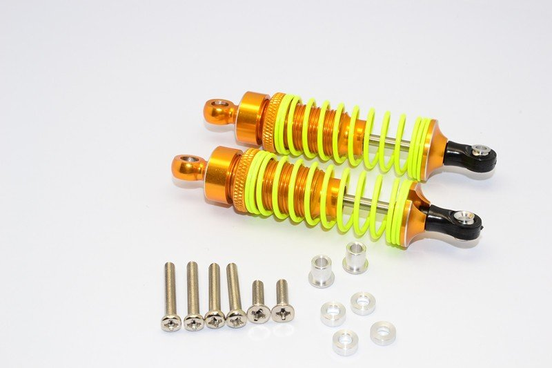 1/10 Touring - Alloy Ball Top Damper (75mm) With Alloy Collars & Washers & Screws - 1pr set - GPM DP075