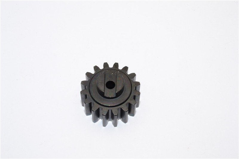 GPM (Sbj016T) - Steel Pinion Gear (16T) - 1pc (Baja 5b/5b Ss/5T) Must Use With GPM Sbj058T Spur Gear - GPM SBJ016T