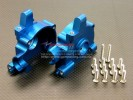 HPI Savage 21 Alloy Front/Rear Gear Box Mount With Screws - 1pr set - GPM SAV1011