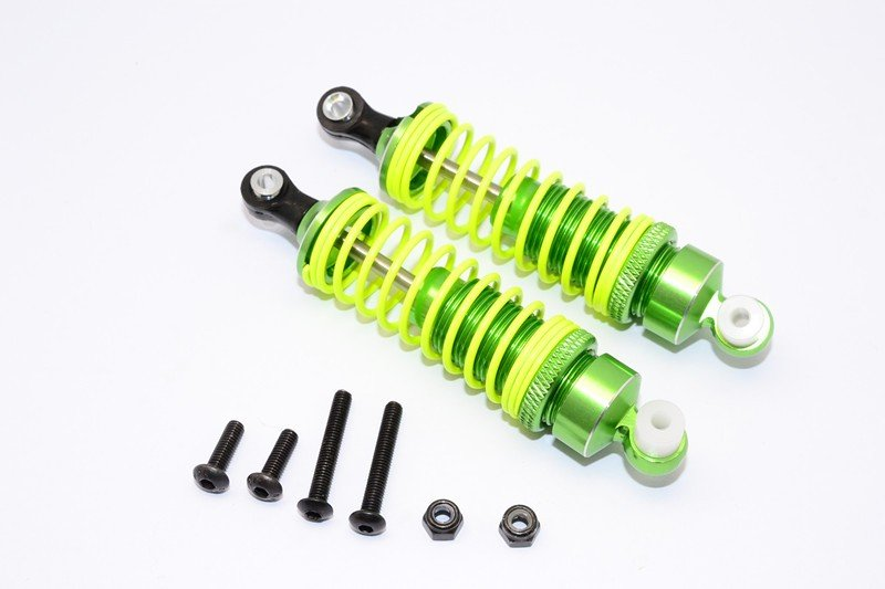 HPI WR8 Fluorescent x Aluminium Rear Adjustable Damper (75mm) - 1pr set - GPM WR8075R