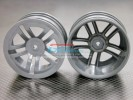 Kyosho Mini Inferno Plastic Front/Rear Sinkage Rims (5 Vacuum) - 1pr - GPM PMIF0512F/R
