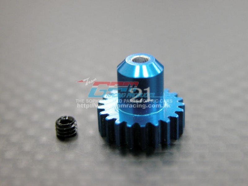 Kyosho Mini-Z AWD Alloy Motor Gear (21T) With Screw - 1pc set - GPM MZA021T
