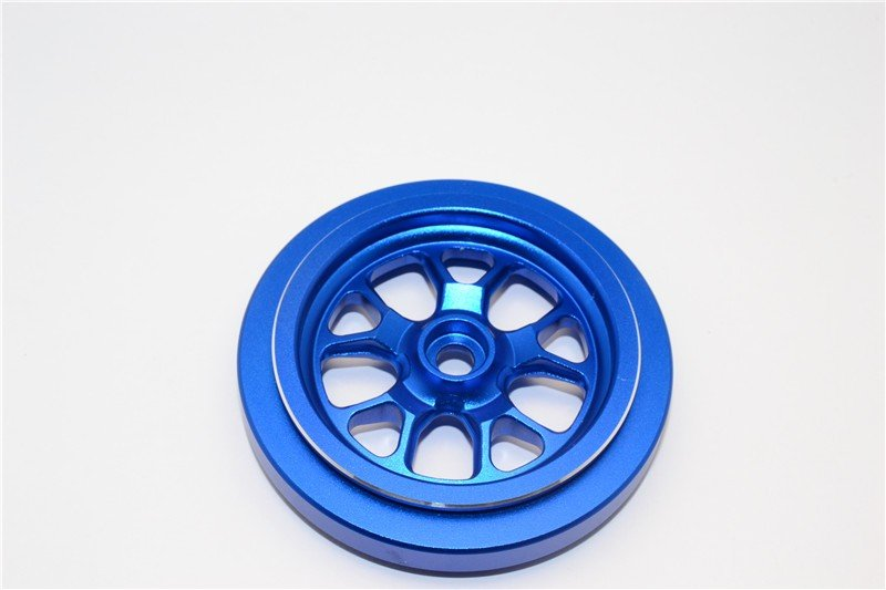 Kyosho Motor Cycle Aluminium Front Wheel (6 Spoke) - 1pc - GPM KM628/6F