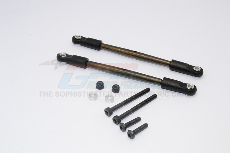 Tamiya CC01 Spring Steel Rear Lower Tie Rod-2pcs set - GPM CC16257ST
