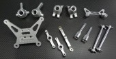 Tamiya DF-02 Alloy Combo Parts - 8 Pcs - GPM DF02COMBO1