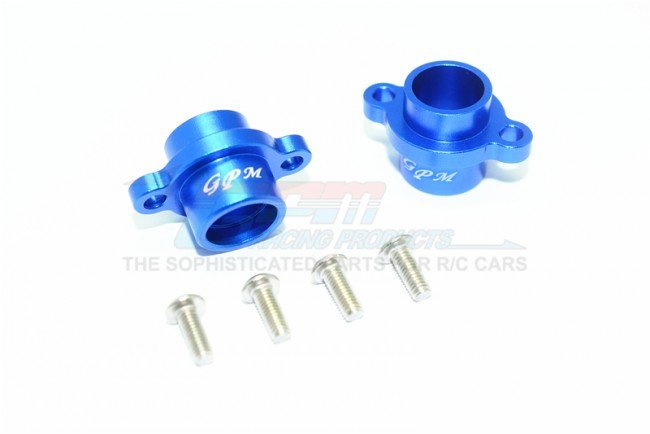 TAMIYA T3-01 DANCING RIDER Aluminum Rear AXLE Adapters - 6pc set - GPM T3022