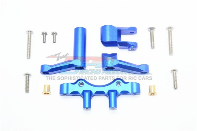 Team Losi SUPER BAJA Aluminum Steering Assembly - 1 set - GPM SB048