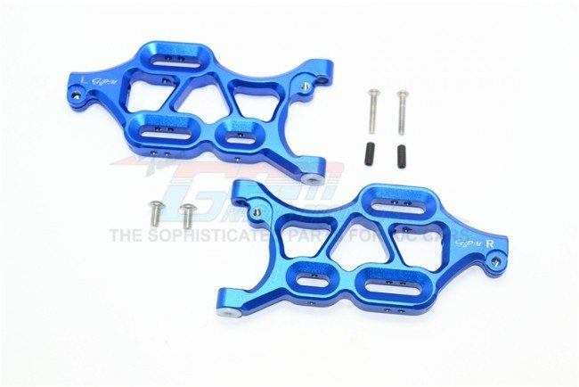 THUNDER TIGER K-ROCK MT4 Aluminum Front Lower Arms - 8pc set - GPM KG055