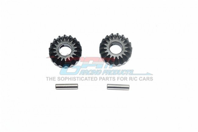 THUNDER TIGER K-ROCK MT4 Harden Steel #45 Differential Bevel Gear - 4pc set - GPM KG1200S/G1