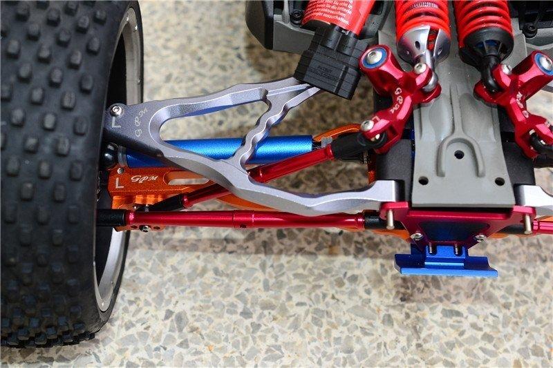 Traxxas E Revo Aluminium Front Steering And Rear