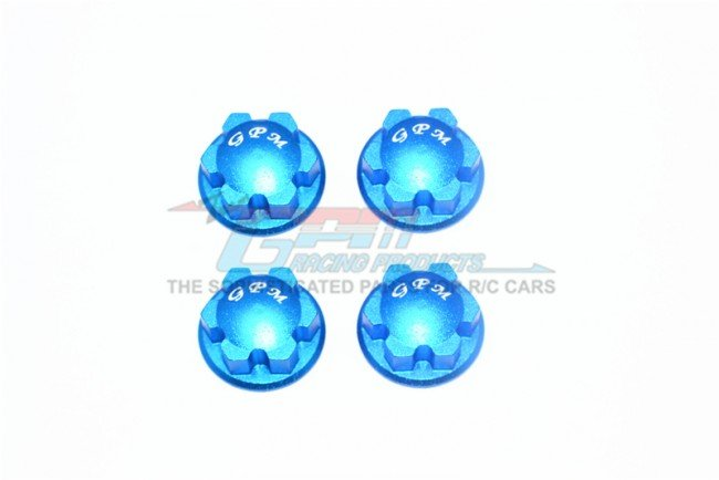 TRAXXAS 1/10 E-REVO VXL Aluminum Wheel Lock - 4pc set - GPM ER2005