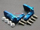 TRAXXAS Jato Alloy Steering Servo Mount With Screws & 3mm Shims - 1pr set - GPM TJA024