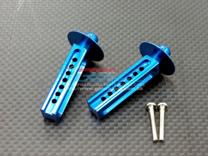 TRAXXAS Revo /Revo 3.3 Alloy Front Body Posts With Screws - 1pr set - GPM TRV032F