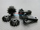 TRAXXAS Revo /Revo3.3 Hard Steel Gear set For Differential Assembly - 5pcs - GPM STRV1200
