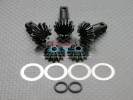 TRAXXAS T-Maxx 1 /Tmaxx 3.3 Hard Steel Gear set For Differential Assembly - 5pcs - GPM STMX1200