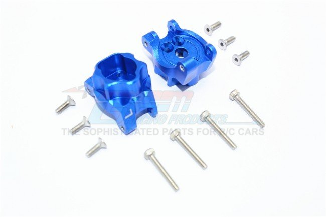 TRAXXAS TRX4 TRAIL CRAWLER Aluminum Rear Gear Box Mounts - 12pc set - GPM TRX4013C