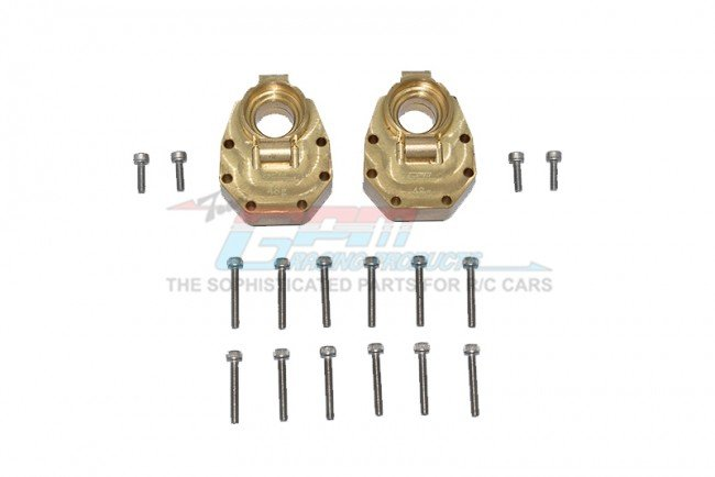 TRAXXAS TRX4 TRAIL CRAWLER Brass Rear Knuckle Arms Inner Case - 18pc set - GPM TRX4022BX