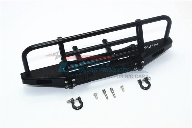 TRAXXAS TRX4 TRAIL CRAWLER Aluminum Adjustable Front Brushguard Bumper - 7pc set - GPM TRX4330FE