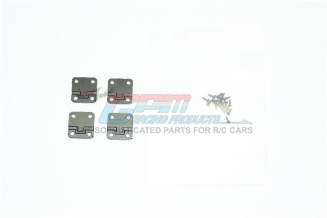 TRAXXAS TRX4 TRAIL CRAWLER Stainless Steel Door Hinges For TRX-4 Defender - 20pc set - GPM TRX4ZSP38