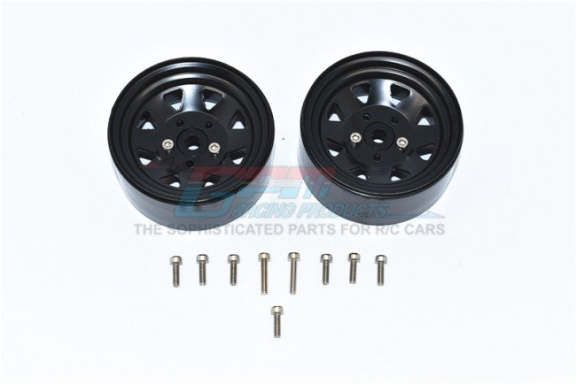 TRAXXAS TRX4 TRAIL CRAWLER Aluminum Wheel 1.9'' For Crawlers - 15pc set - GPM ZSP052