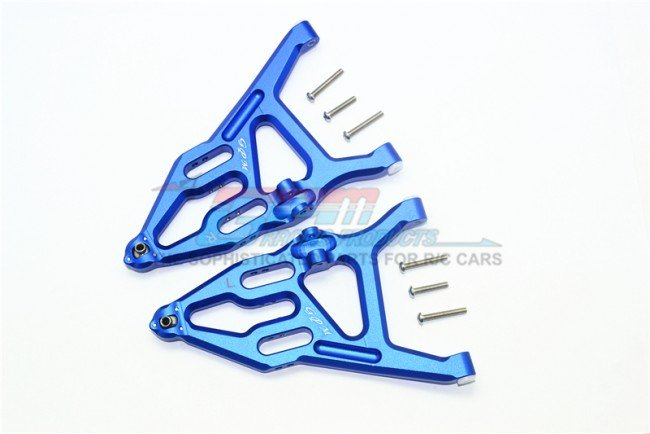 TRAXXAS UNLIMITED DESERT RACER Aluminum Front Lower Suspension Arm - 8pc set - GPM UDR055